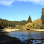 clean water at Russian River