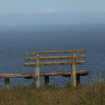 ocean view bench at Carrington Ranch