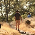 child at Montini Open Space Preserve