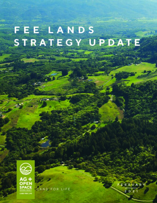 Fee Lands Strategy Update cover page.