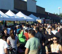 Crowd at Roseland Village Center