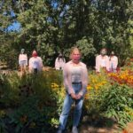 Enviroleaders at Sonoma Garden Park, which is one of several programs supported by our Public Outings + Youth Education program.