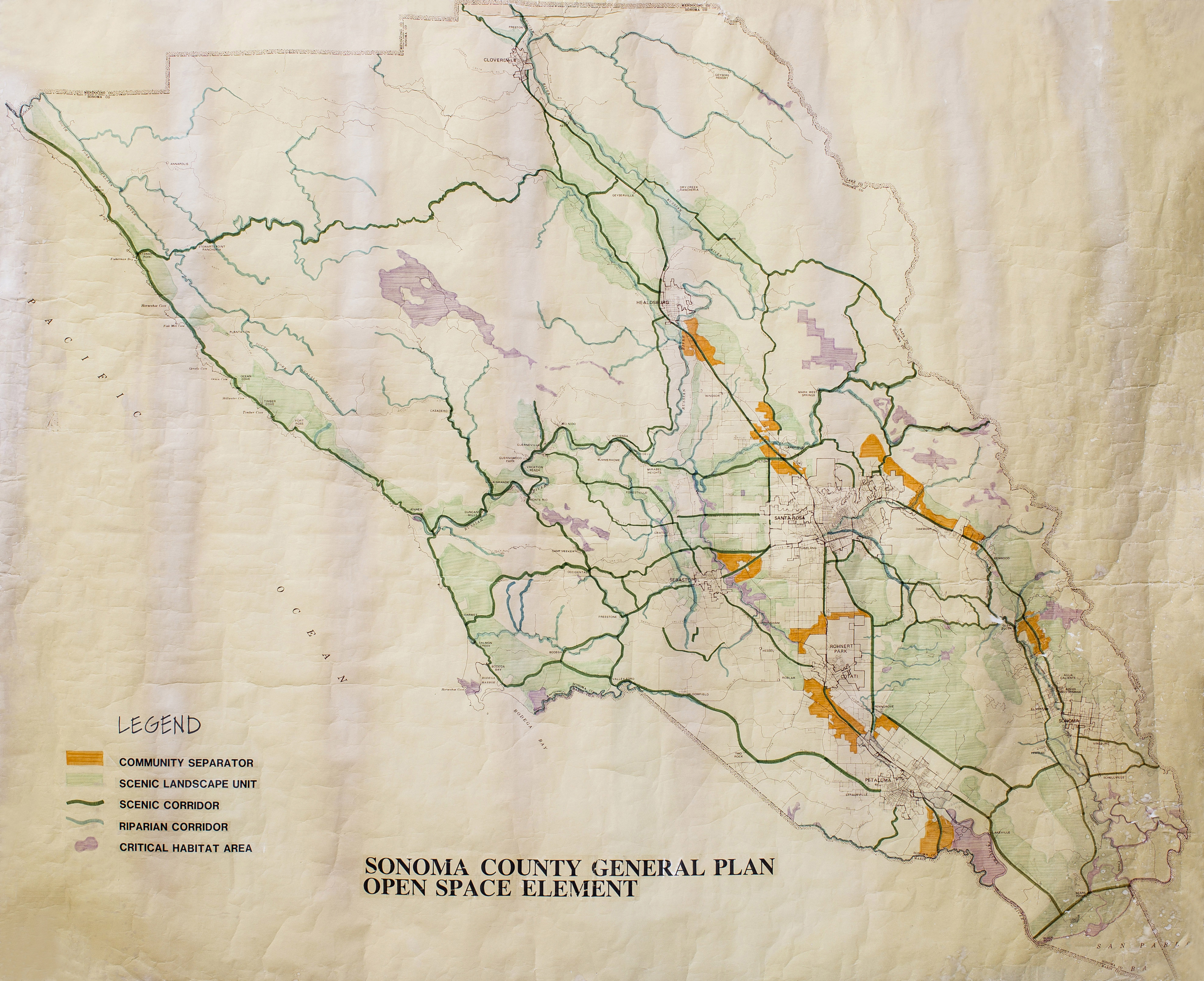 The General Plan to Vital Lands: Looking Back (and Forward